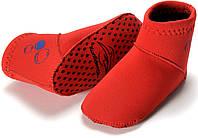 Неопреновые носки для бассейна и пляжа Konfidence Paddler, красный, 6/12 мес NS06-6/12m (NS06MC)