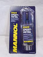 Клей двухкомпонентный эпоксидный для металла Mannol