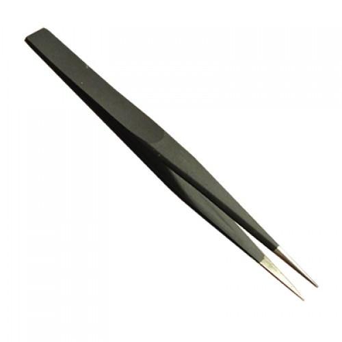 Пинцет прямой ESD ZD-156C антистатический (135 мм)