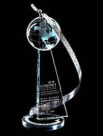 Награда из стекла, Бизнес-сувениры из стекла
