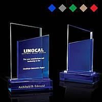 Награда из стекла, Награды корпоративные, цветные из стекла