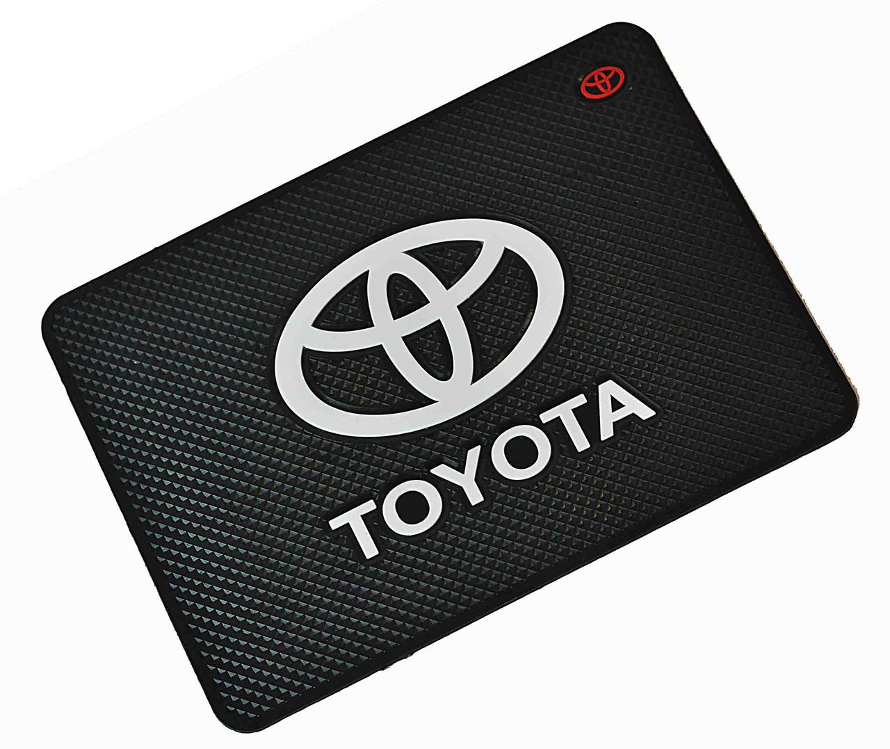 Автомобильный антискользящий коврик Toyota