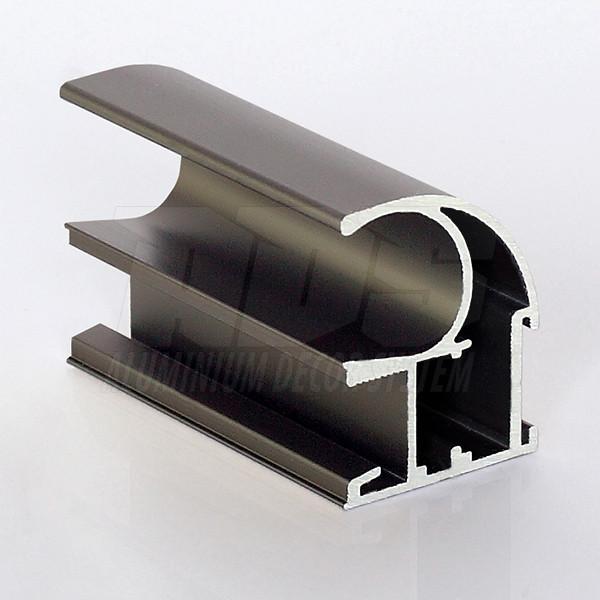 Профиль- ручка для раздвижной двери Светлая бронза - 5200мм