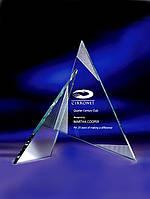 Награда из стекла, Авторский треугольник из стекла