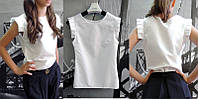 """Рубашка-блуза для девочки """"Рюш"""""""