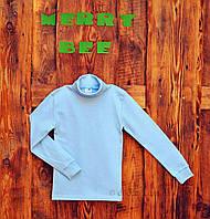 Гольфик детский  Merry Bee 12107 р.122 голубой