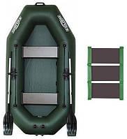 Надувная гребная лодка Kolibri К-240 настил-коврик
