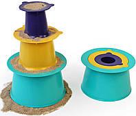"""Игровой набор """"Строим замки из песка и снеги """"ALTO""""(цвет зеленый+фиолетовый+желтый) (170303)"""