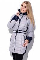 Женская зимняя куртка на тинсулейте LS-8504 серый - 44