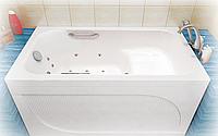 Ванна Тритон Арго 1200х700х610 (ванна+каркас+лиц.экран+слив-перелив) с сиденьем