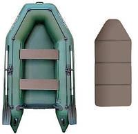 Надувная моторная лодка Kolibri КМ-260, настил-книжка
