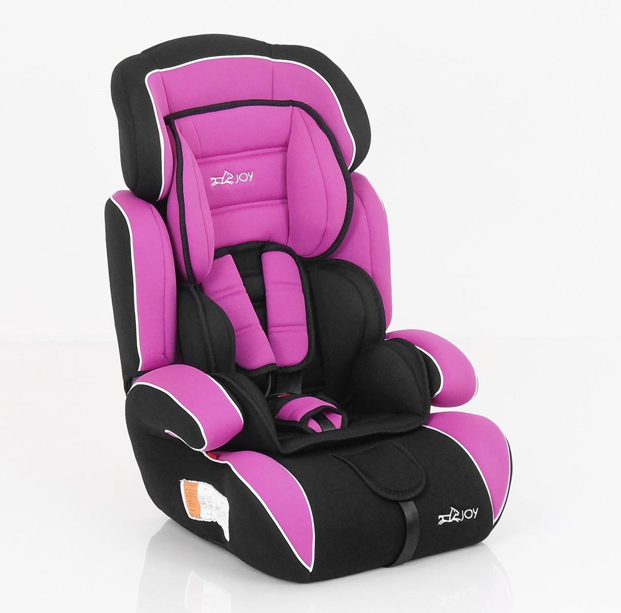 Автокресло Joy 8888 универсальное розовое