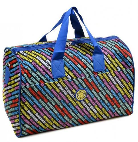 Интересная дорожная сумка-саквояж на 27 л. Подиум 8023 разноцвет