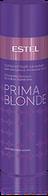 Сріблястий бальзам для холодних відтінків блонд Estel Prima Blonde