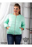 Куртка женская на синтепоне короткая(48-52), доставка по Украине