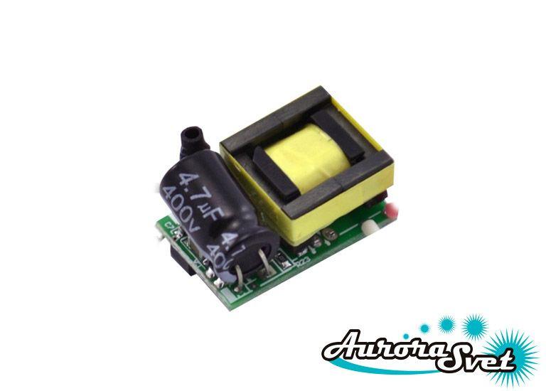 Драйвер питания светодиодов 3x1W 220V. LED драйвер. Светодиодный драйвер.