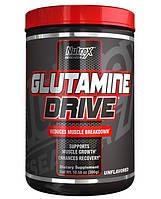 Glutamine Drive Black Nutrex Research, 300 грамм