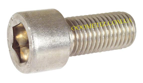 Винт М24х70 А2 нержавеющий DIN 912, ГОСТ 11738-84, ISO 4762 цилиндрическая головка и внутренний шестигранник