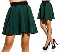 Стильная юбка с завышенной талией