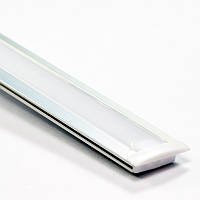 Профиль алюминиевый врезной для светодиодной LED ленты ПФ-16 1 метр