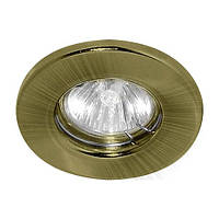 Точечный светильник Feron DL10 MR16 Античное золото