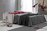 Раскладной диван ARGO с матрасом 160 см фабрика Alberta (Италия) , фото 2