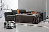 Раскладной диван ARGO с матрасом 160 см фабрика Alberta (Италия) , фото 5