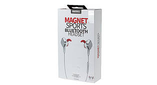 Беспроводные наушники Remax Magnet Bluetooth Headset RB-S2 Silver