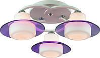 Люстра потолочная Altalusse INL-9292C-03 White & Violet