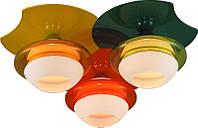 Люстра потолочная Altalusse INL-9298C-03 Orange, Yellow, Green