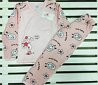 Пижама для девочки баечка  рост 110-116 Фламинго, фото 1
