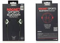 Беспроводные наушники Remax Magnet Bluetooth Headset RB-S2 Black