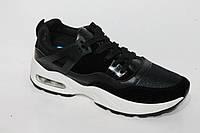 Спортивная модная обувь. Кроссовки для подростков от фирмы Wonder 9-109 Black (8пар, 36-41)