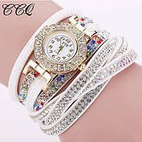 Женские кварцевые часы-браслет, к-023
