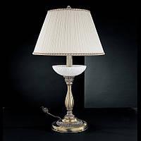 Настольная лампа RECCAGNI ANGELO P.5400/G с абажуром