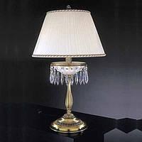 Настольная лампа RECCAGNI ANGELO P.4661/G с абажуром