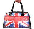 Мужская спортивная сумка с принтом Британский флаг 30306