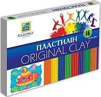 """Мицар Пластилін """"Класика"""" 16 кольорів"""