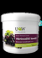 Крем для ніг з виноградними листками UW Naturcosmetic 250 ml