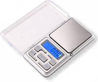 Карманные ювелирные весы Pocket Scale MH-100 до 100 гр точность 0,01 гр