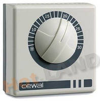 Cewal RQ01, 16А (Италия) термостат, терморегулятор механический