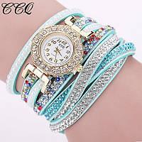 Женские кварцевые часы-браслет,к-024