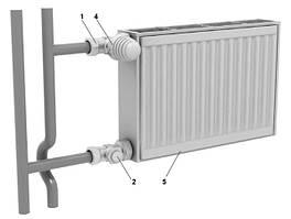 Радиаторы djoul 11 тип (боковое подключение)