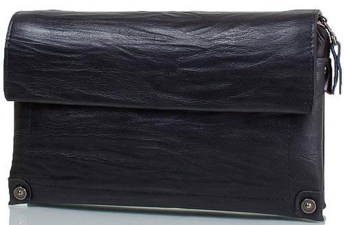 Стильная мужская борсетка из натуральной кожи ETERNO (ЭТЕРНО) TU8126-black черный