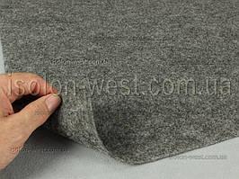 Карпет автомобильный Серый, толщина 2.2 мм, шир. 1.43 м, плотность 300 г/м2