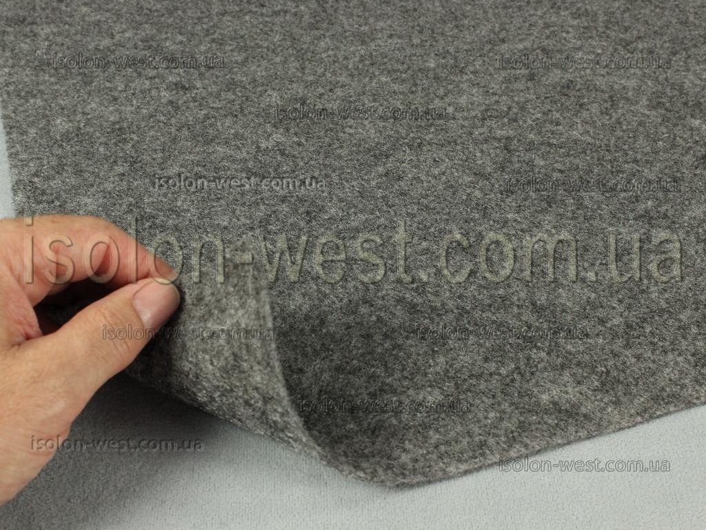 """Карпет автомобильный Серый, толщина 2.2 мм, шир. 1.43 м, плотность 300 г/м2 - Торгово-производственная компания """"Изолон-Вест"""". в Львовской области"""