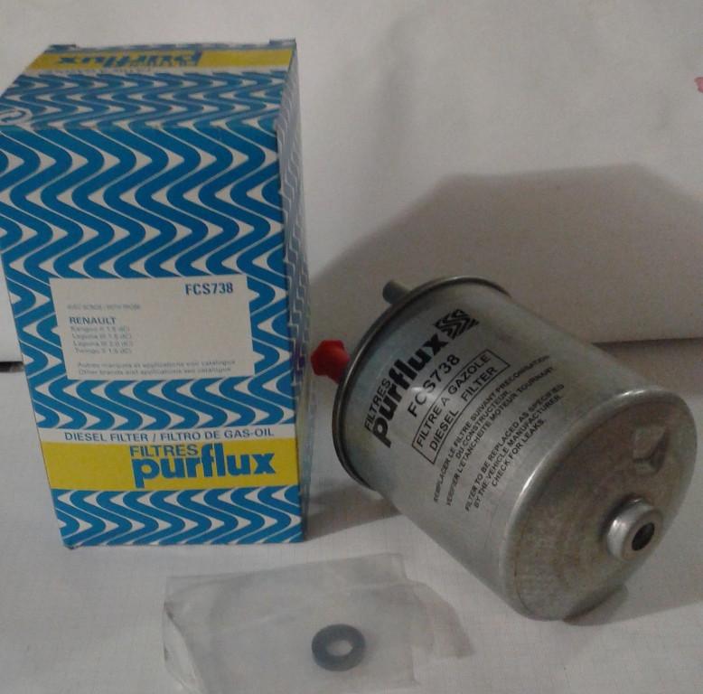 Фильтр топливный Renault Kangoo 1,5DCI датчик воды Purflux
