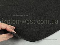 Карпет автомобильный Антрацит (темно-темно-серый), толщиной 2.2 мм, шир. 1.43 м, плотность300 г/м2, фото 1