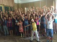 155 детей из многодетных и малообеспеченных семей, нуждающихся в особом социальном внимании и поддержке с Киевской области, при поддержке Службы по делам детей и семьи Киевской областной государственной администрации заехали 10 августа 2016 года в детский оздоровительный лагерь «Украиночка»
