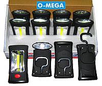 Світлодіодні ліхтарі ручні 10+3 LED магніт гачок, фото 1